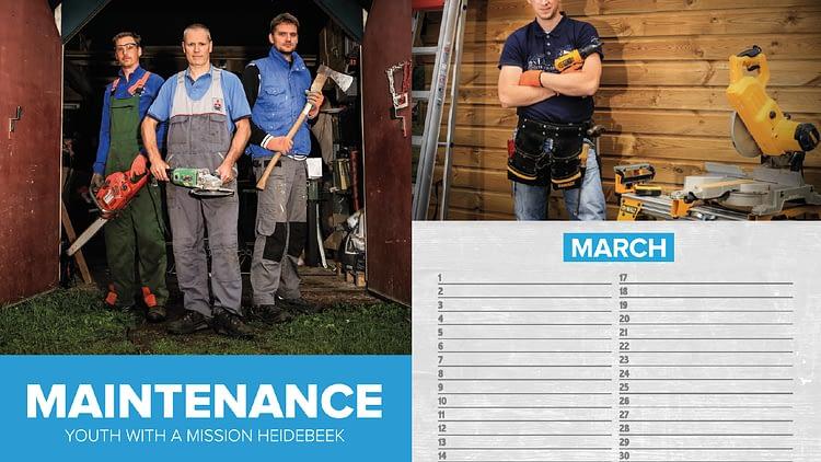 Creative Media Team: Maintenance Calendar