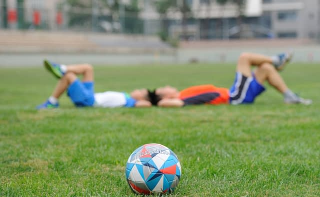 Voetbal DTS - Training